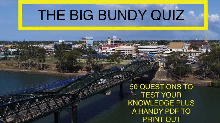 Test your knowledge about Bundaberg.