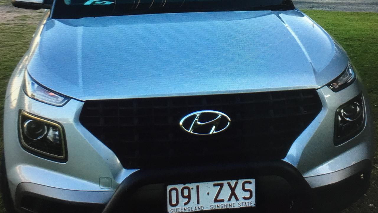 Kayla McCloskey's Hyundai Venue was seen being driven dangerously through Buderim after being stolen from in front of a Besley St home.