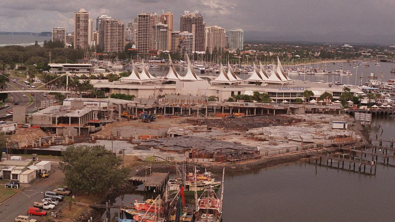 The former Fisherman's Wharf site being redeveloped to create Palazzo Versace in 1999.