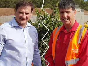 Gloves are off: Llew backs Bruce's election rival