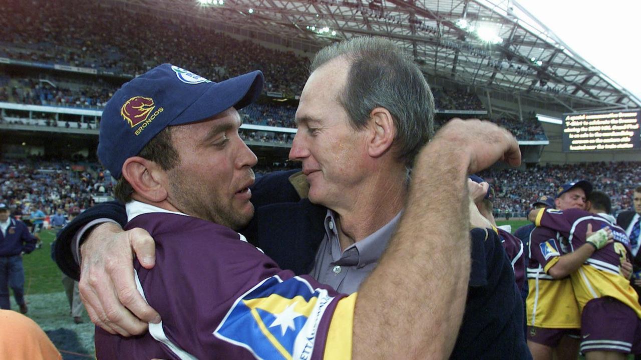 Gorden Tallis and Wayne Bennett haven't always seen eye-to-eye. Pic Brett Faulkner