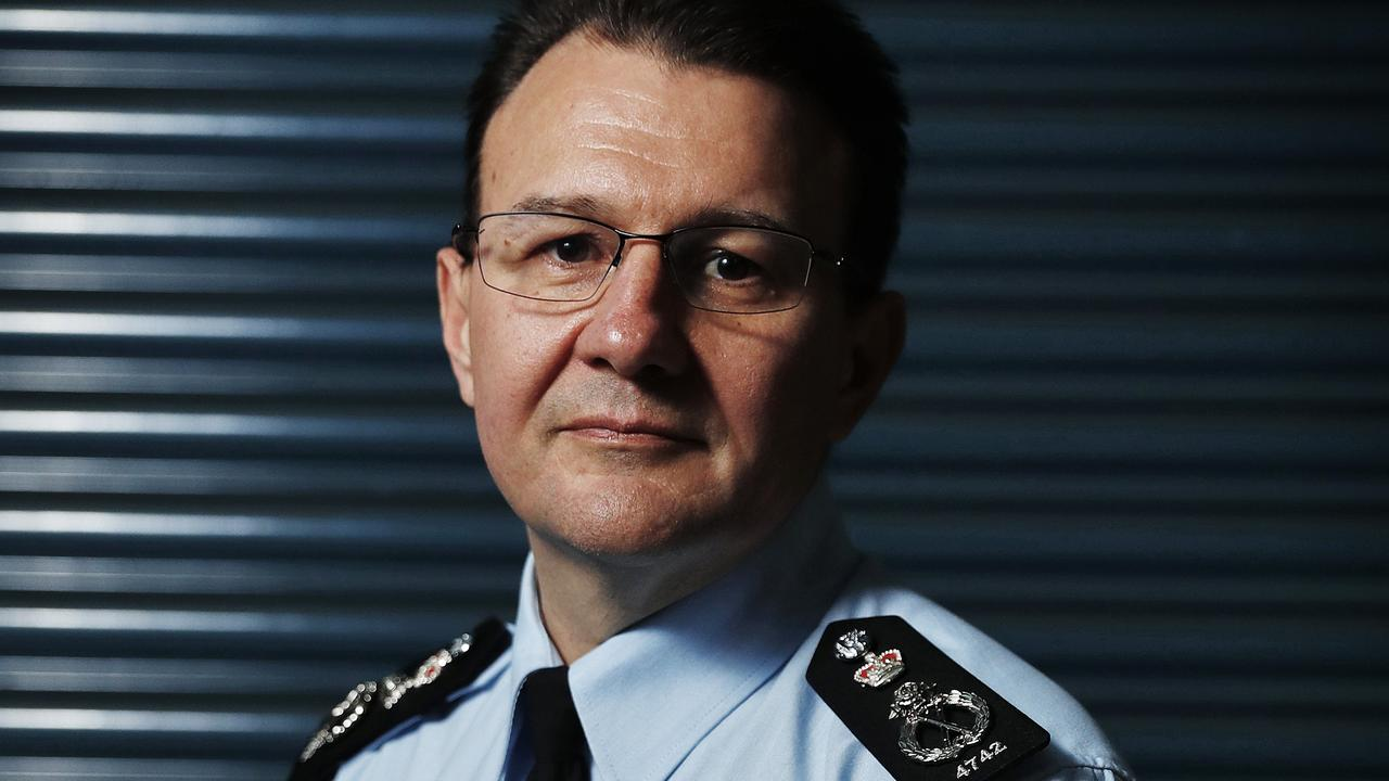 AFP Commissioner Reece Kershaw. Picture: Sam Ruttyn