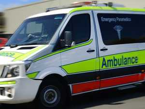 Five hospitalised after car drives into creek
