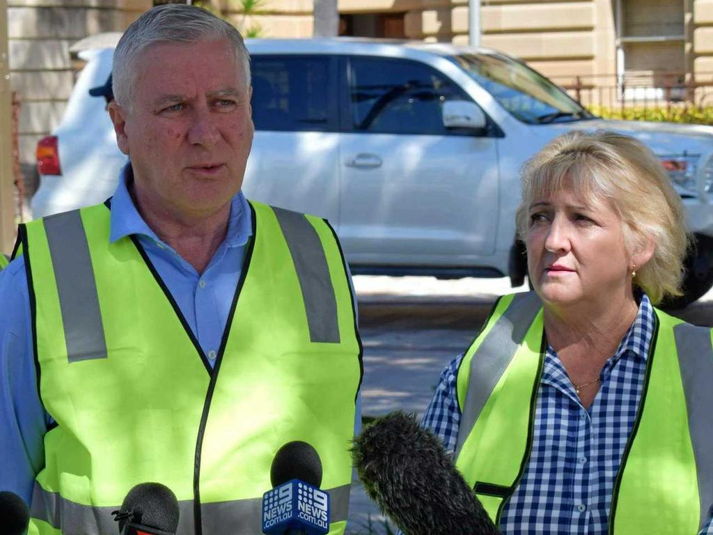 Deputy Prime Minister Michael McCormack and Capricornia MP Michelle Landry looked forward to seeing the Rocky Stadium project stimulate the recovery of the region's economy.