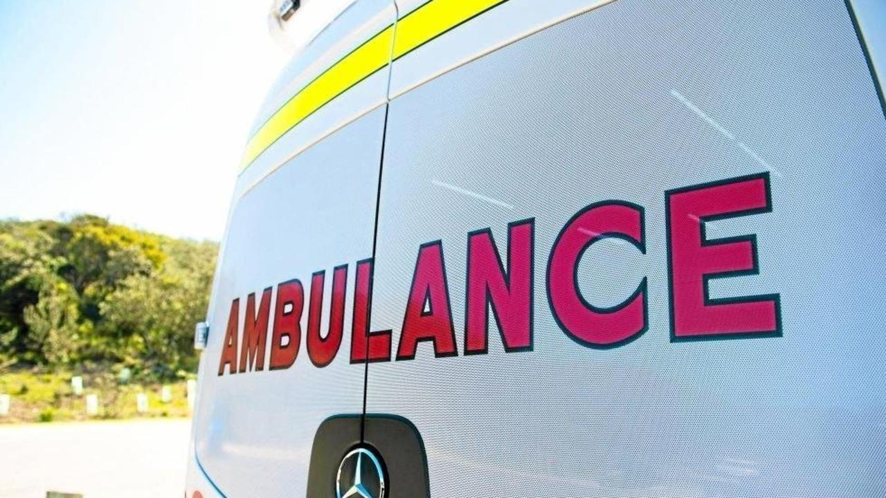 A teenager was taken to hospital after a crash at Little Mountain overnight.