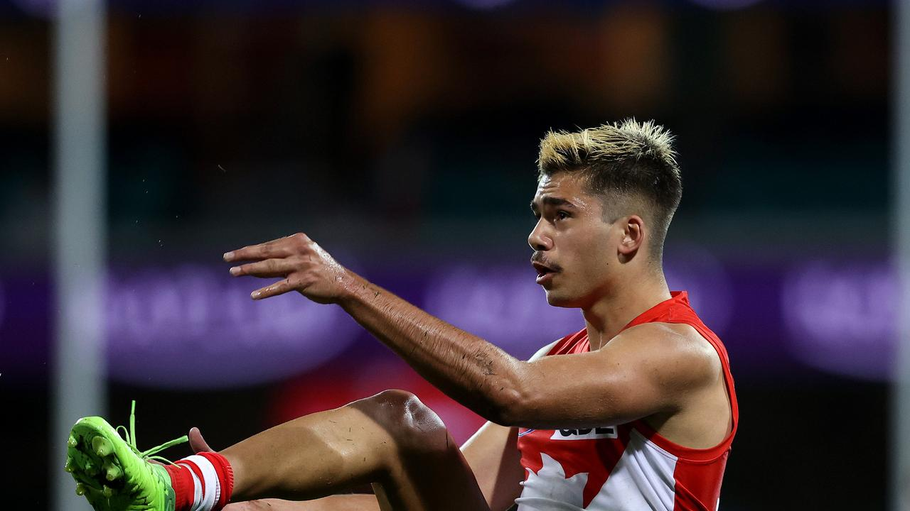 Sydney Swans youngster Elijah Taylor has been arrested and questioned by police