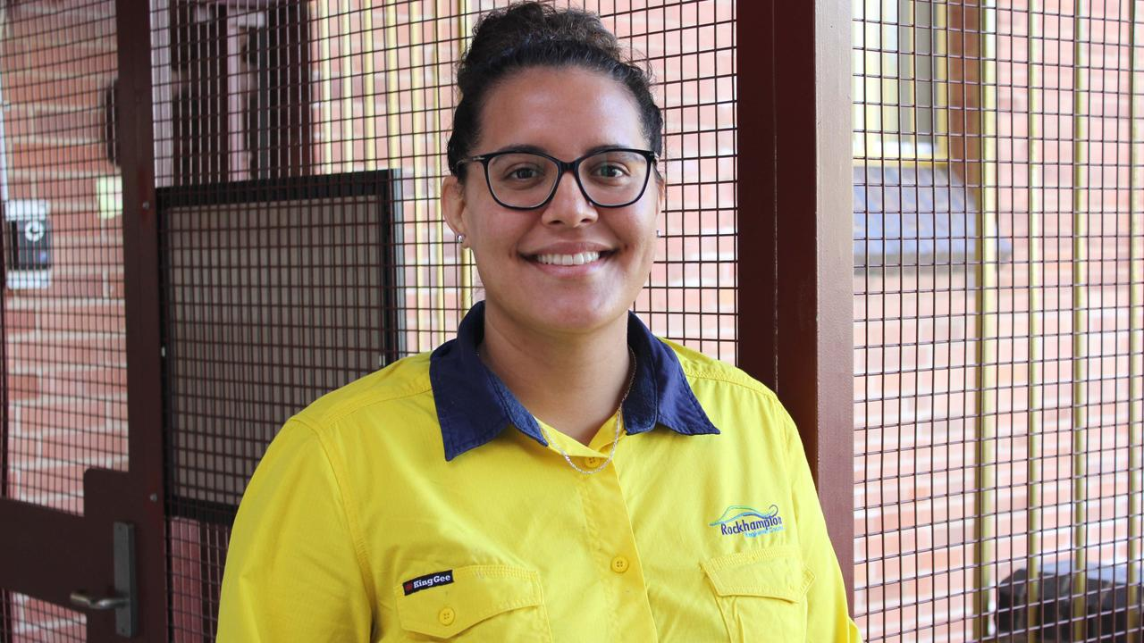 Shania Evans was the regional winner of the Aboriginal and Torres Strait Islander Student of the Year category at this year's Queensland Training Awards. Picture: Contributed