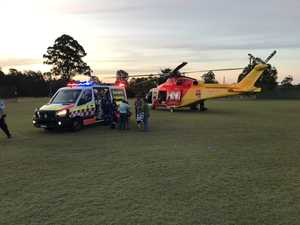 Man injured in tree-lopping incident