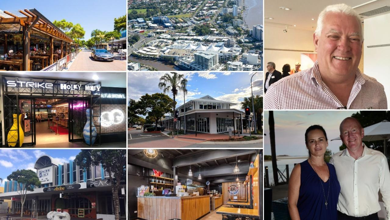 Some of Ocean Streets most expensive properties. Top right: Tony Riddle. Bottom right Garry Crick and Toni Jena