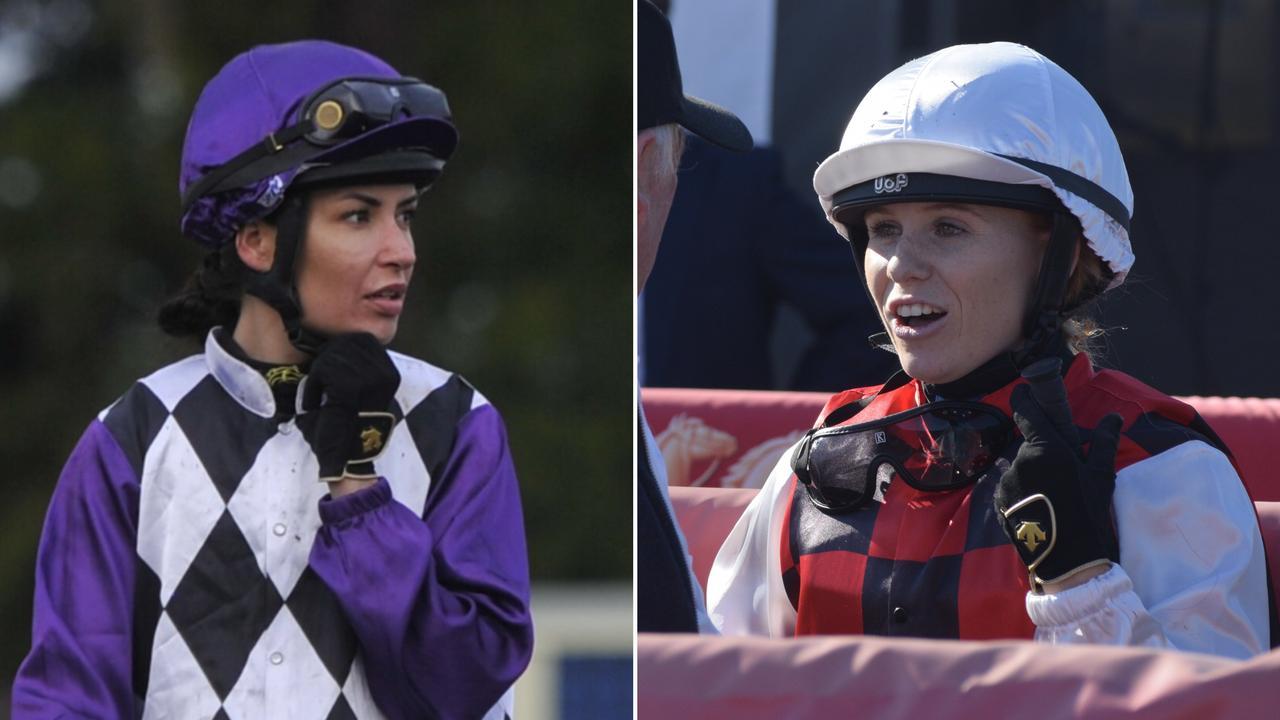 Grafton jockey Belinda Hodder and felow hoop Emily Atkinson played a big part in a Coffs Harbour Racing Club meeting double for Warren Gavenlock on Sunday.