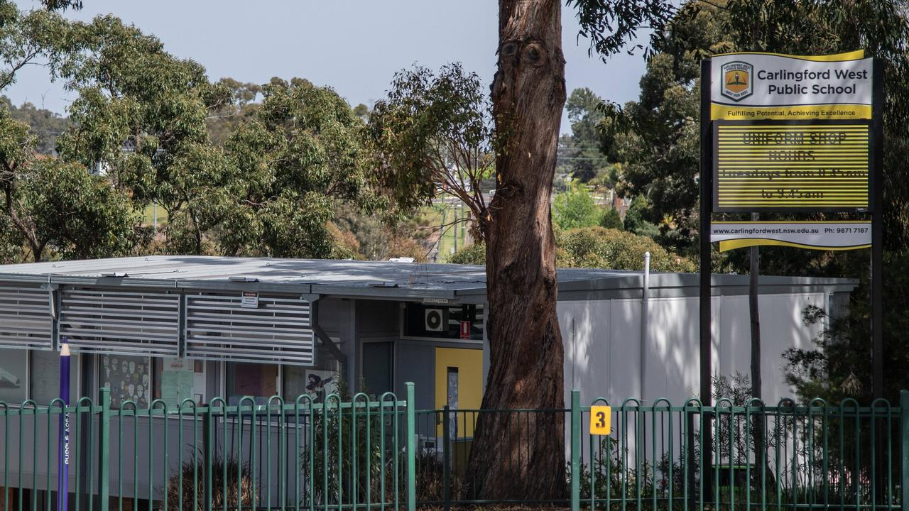 Carlingford West Public School will get an upgrade. Picture: James Gourley
