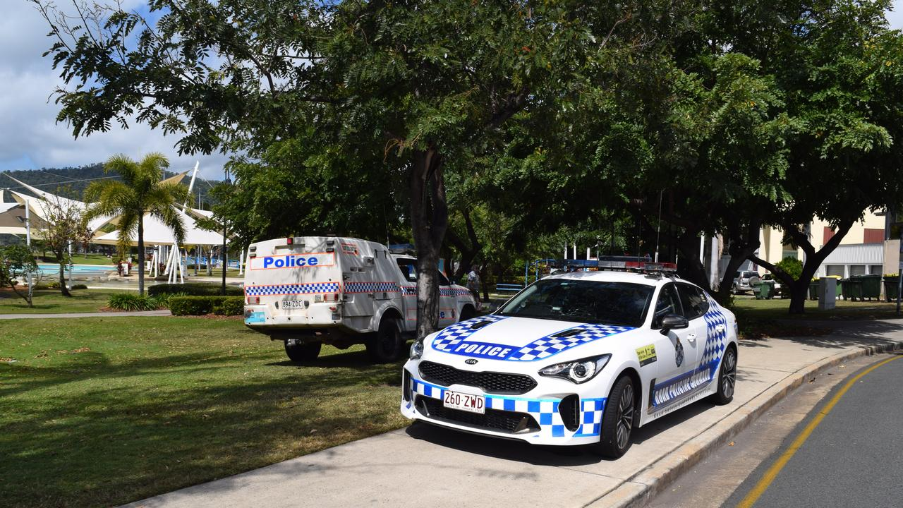 Two women were injured in a kitchen explosion at The Red Plate in Airlie Beach this afternoon, September 13, 2020. Picture: Elyse Wurm