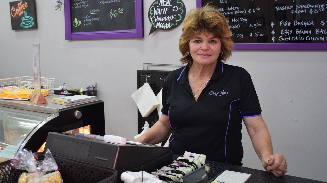 MARYBOROUGH CAFES: Owner of Cheryl-Lyn's Cafe, Cheryl Ramsay. Photo: Stuart Fast