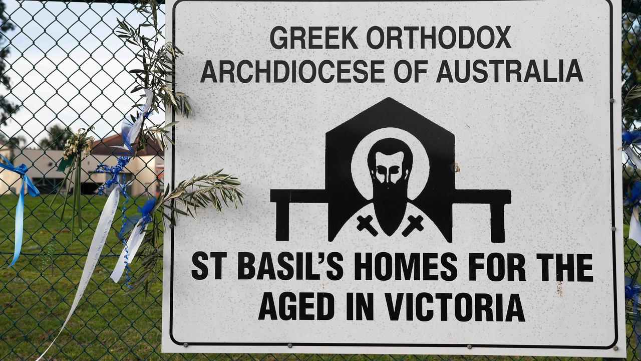 The chairman of St Basil's in the northern Melbourne suburb of Victoria, has stepped down, the Greek Orthodox Archdiocese of Australia has revealed. Picture: Stefan Postles.