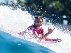Surf star shaken by carpark brush with alleged stalker
