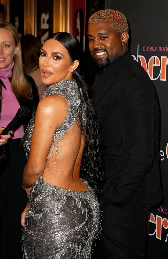 The golden era of Kimye in 2018. Picture: Getty Images