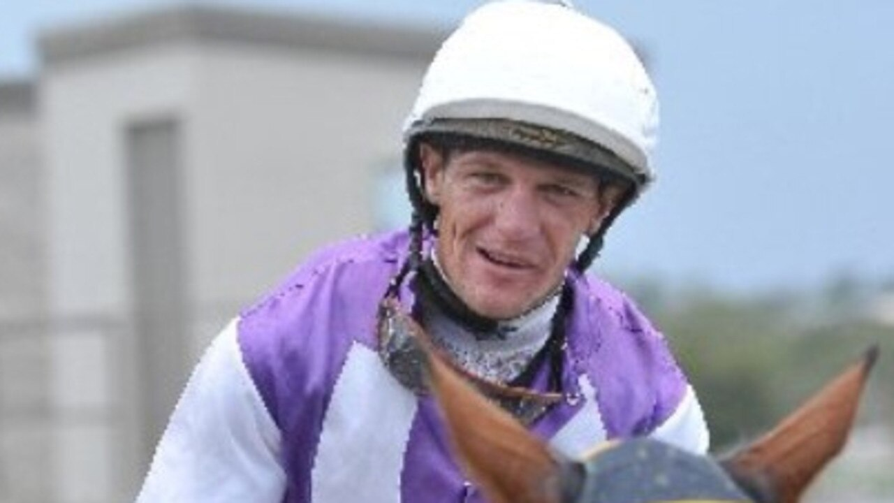 Trouble-plagued jockey Luke Dillon, who was once Rockhampton's premier rider.