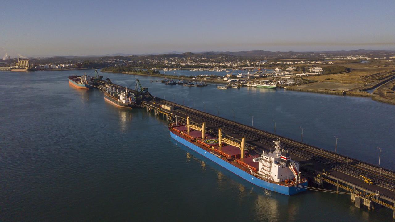 Inter Port Global's Desmond Euen has a $30 billion plan to turn Gladstone's port into a freight hub.