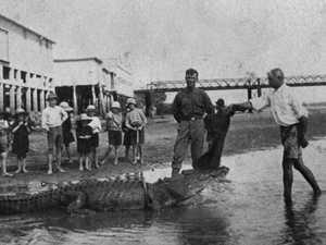 Flashback: The days of Mackay's crocodile hunters