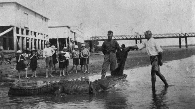 Flashback: The days of Mackay's crocodile hunters