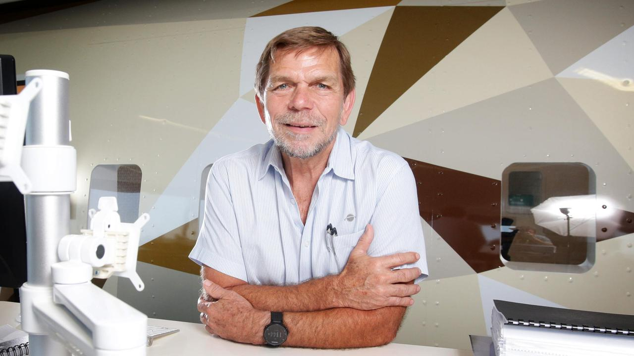 Flight Centre's CEO Graham Turner says Australia needs to learn to live with the virus. Picture: Steve Pohlner