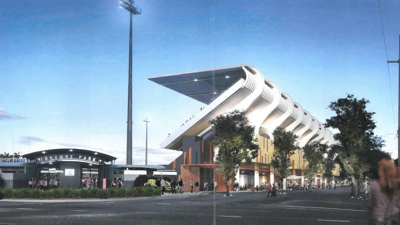 STADIUM PLAN: The Browne Park Trust has released concept images and plans of their stadium upgrade proposal for Browne Park.