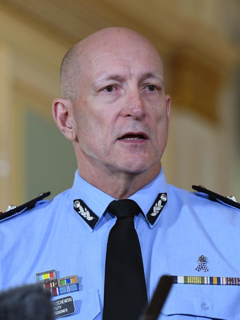 Queensland Police Deputy Commissioner Steve Gollschewski. Picture: Dan Peled