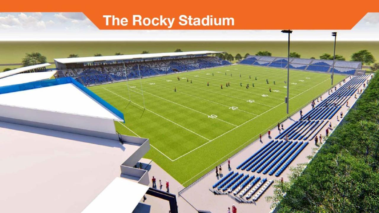 FUNDING APPROVED: The Federal Government will commit $23 million towards building the Rocky Stadium at Victoria Park.