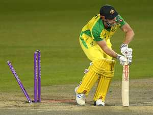 Debacle: Australia's middle order in stunning collapse
