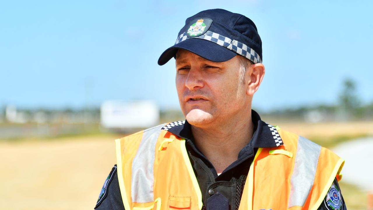 Senior Sergeant Matt Lyons. Picture: Alix Sweeney