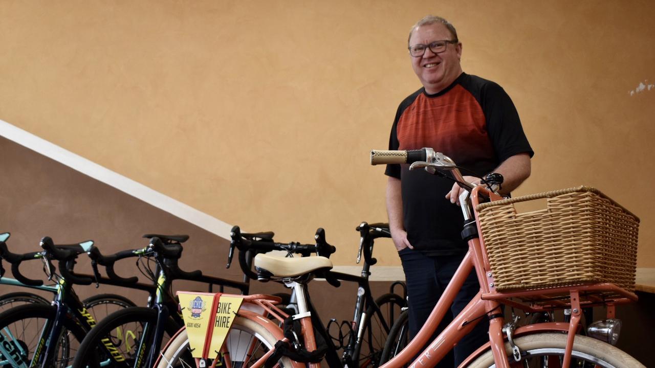 Mark Downey, owner of Ballina Byron Bike Hire.