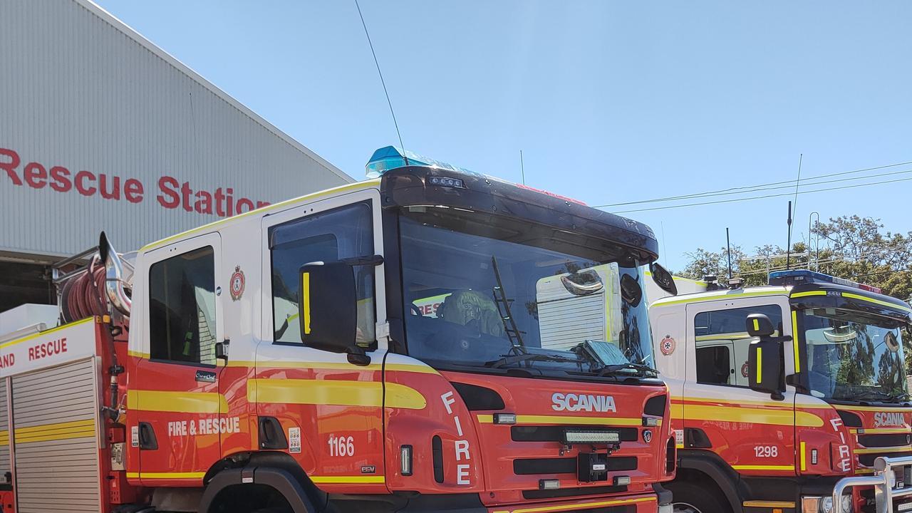 Gladstone Fire Station. Picture Rodney Stevens