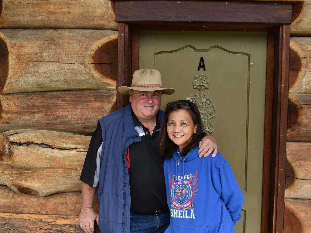 Greg and Sheila Galea are the owners of Amarina Farm Stay and Gardens