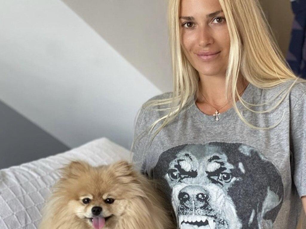 Viktoria Karida, widow of John Macris, lives in Greece. Picture: Instagram