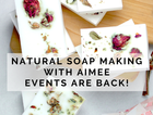 Using simple + natural ingredients to make beautiful healthy soap safe for you, your family + the environment