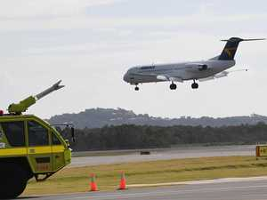 Late night Storm flights waking airport locals