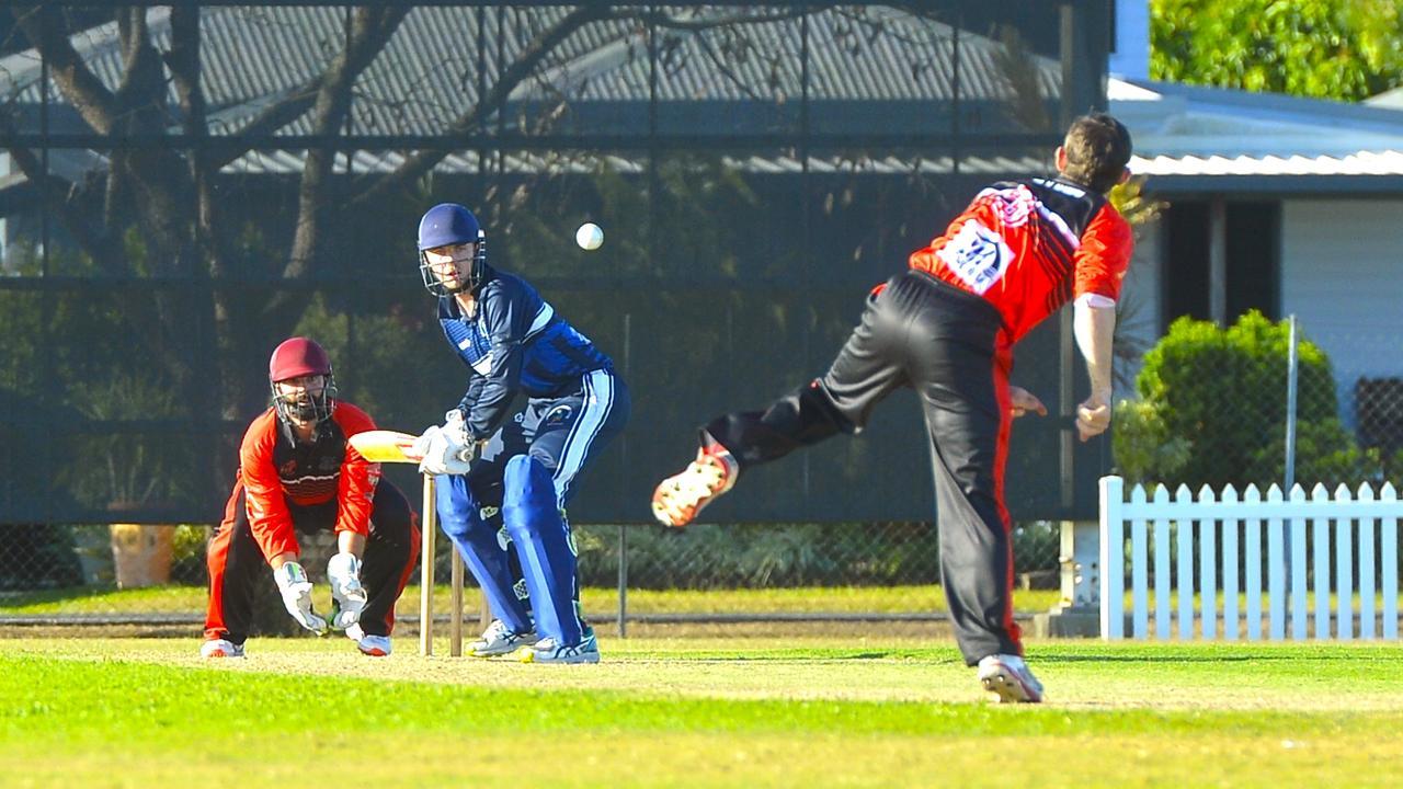 Mackay Cricket Dixon Homes Division 1 T20 Shootout. Norths bowler Blair Holden. Photo: Callum Dick