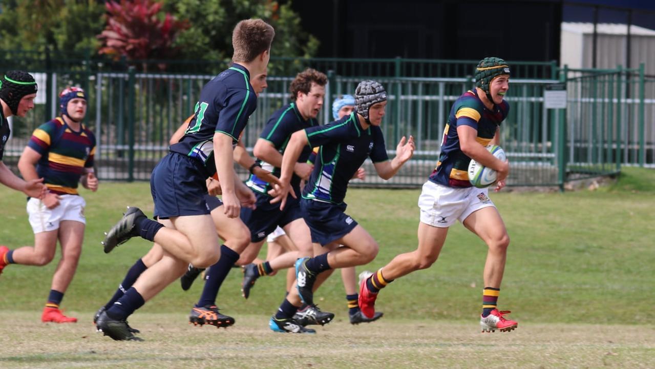 Sunshine Coast Grammar First XV player Harry Grant