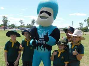 Where you can meet Brisbane Heat mascots this afternoon