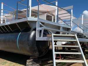 SNEAK PEEK: Lady Musgrave HQ pontoon taking shape