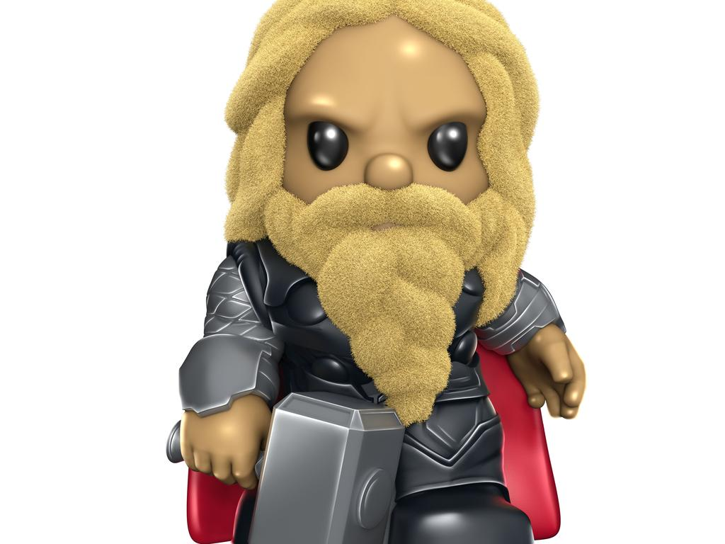Furry Thor is another of the ultra rare Oshies.