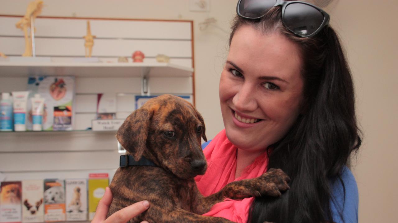 Animal rescuer Jess Otto.