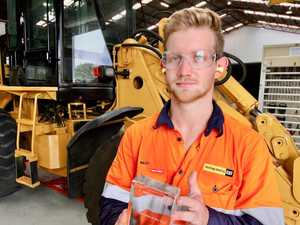 Diesel fitter named CQ's apprentice of the year
