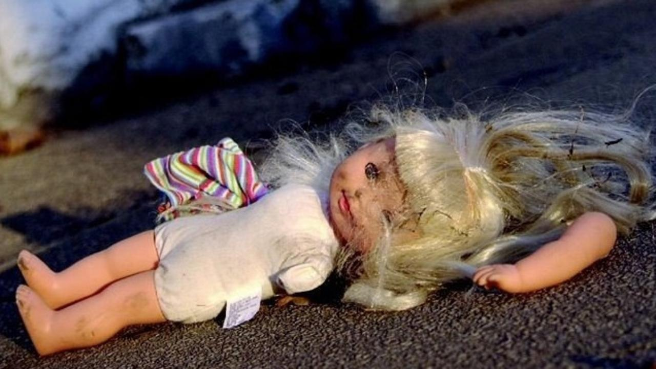 Generic imageof a broken doll.