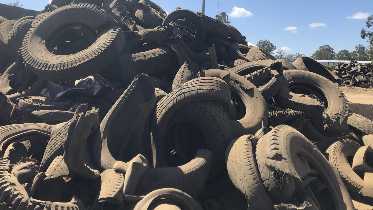 Piles of tyres cost thousands to dispose