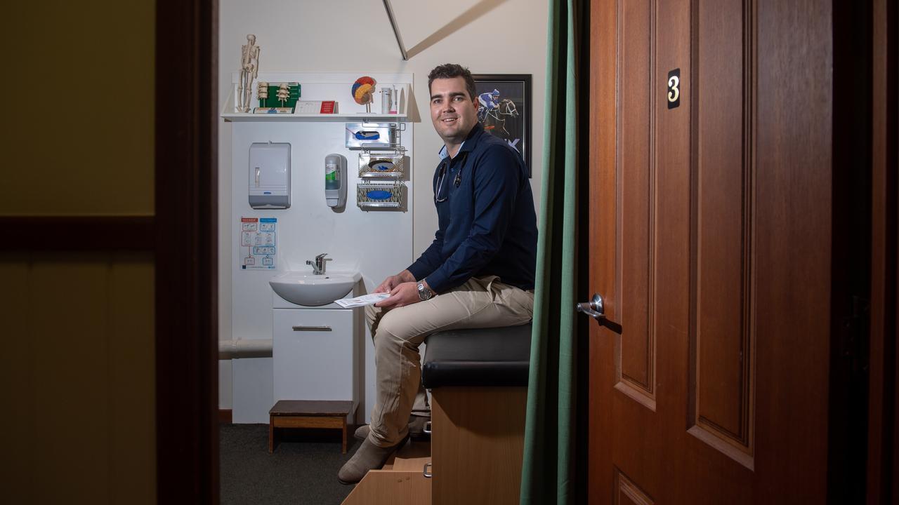 Edan Buxton from The Lockyer Doctors. PHOTO: ALI KUCHEL