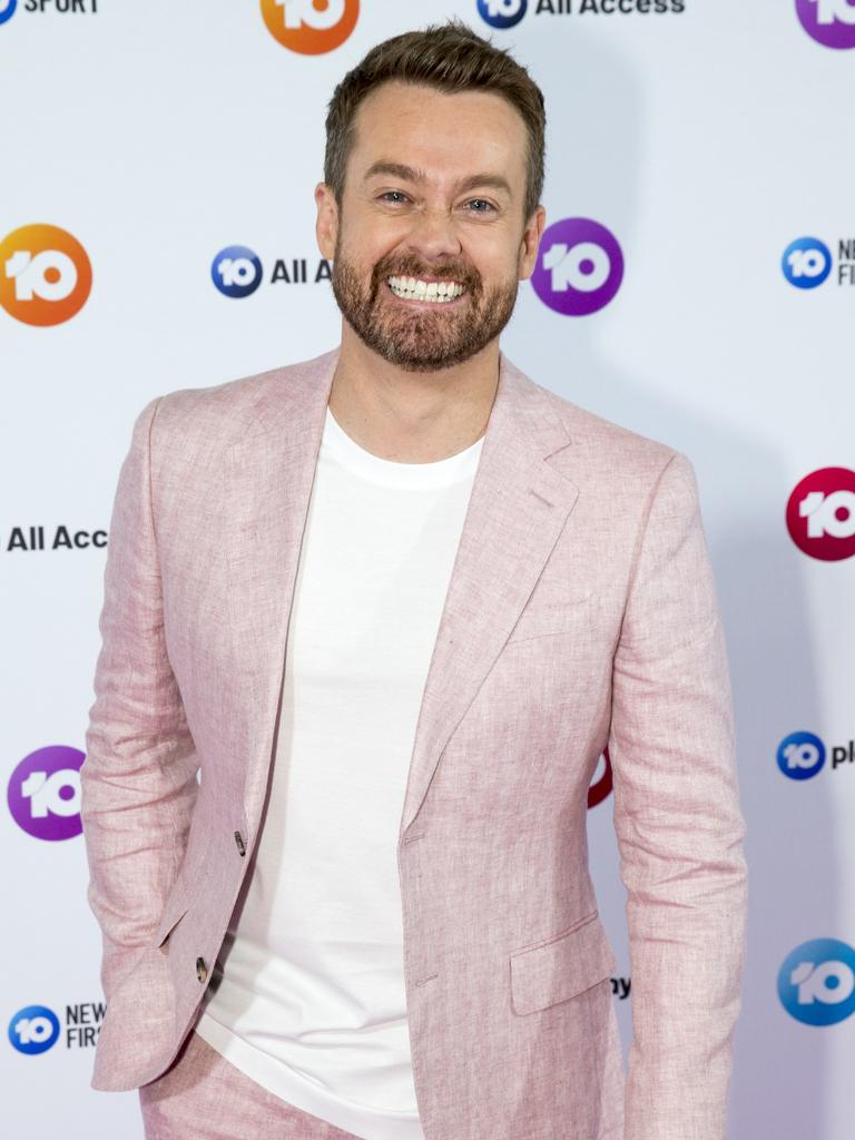 Grant Denyer at the Channel 10 programming launch, ICC, Sydney. 10th October 2019. Picture by Damian Shaw