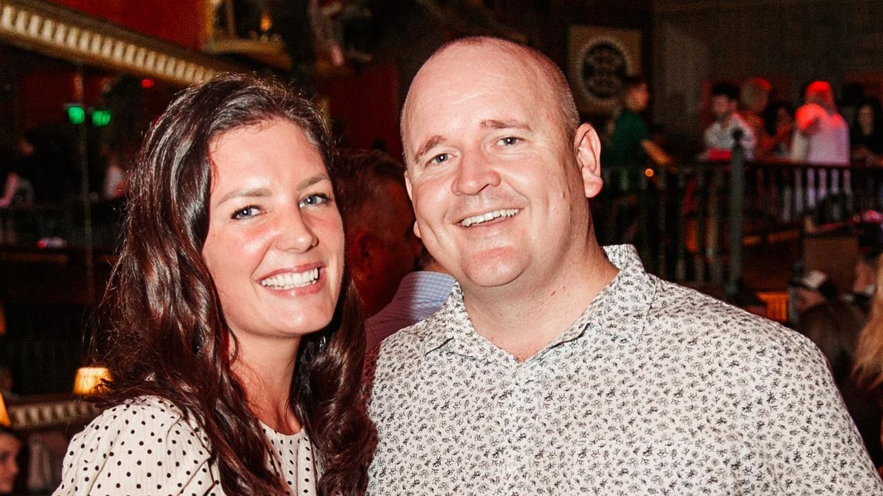 Hallmark Group director Scott Hempel and his wife Debbie.