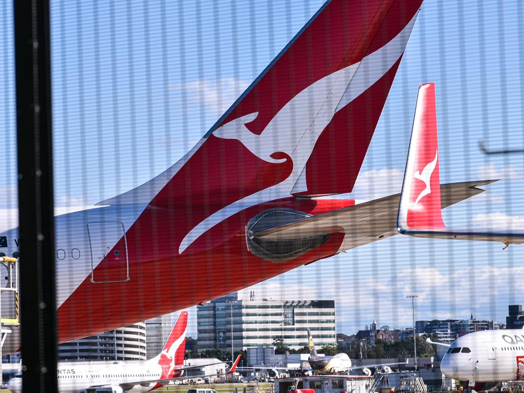 "Qantas is throwing open an ""expression of interest"" process to state governments, likely sparking a full scale bidding war. Picture: NCA NewsWire/Flavio Brancaleone"