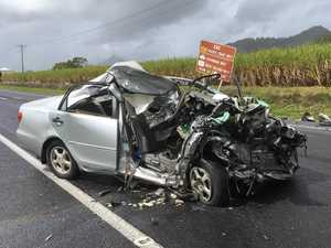Woman dead in Bruce Hwy crash